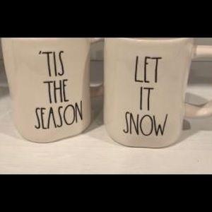 Rae Dunn Other - New Rae dunn 'Tis The Season Christmas Mug